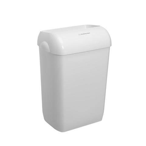 Корзина для мусора пластиковая KK Aquarius 43л белая 2 шт 6993