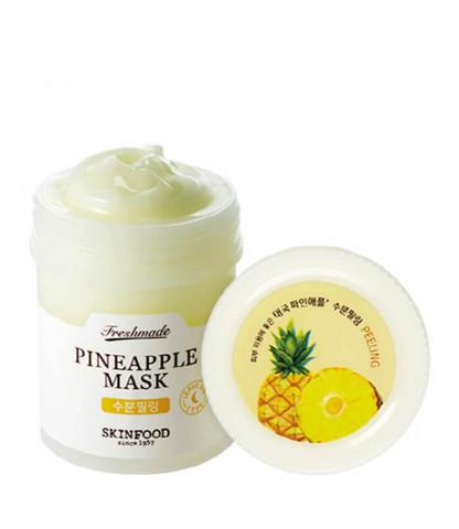 Отшелушивающая  маска с экстрактом ананаса для лица Skinfood Freshmade Pineapple Mask