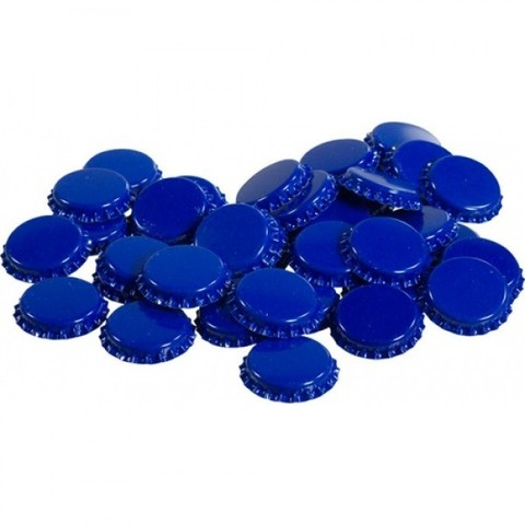Набор кроненпробок 21 мм, 80 шт, синие