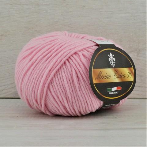 Пряжа Merino Extra 90 (Мерино экстра 90) Светло-розовый