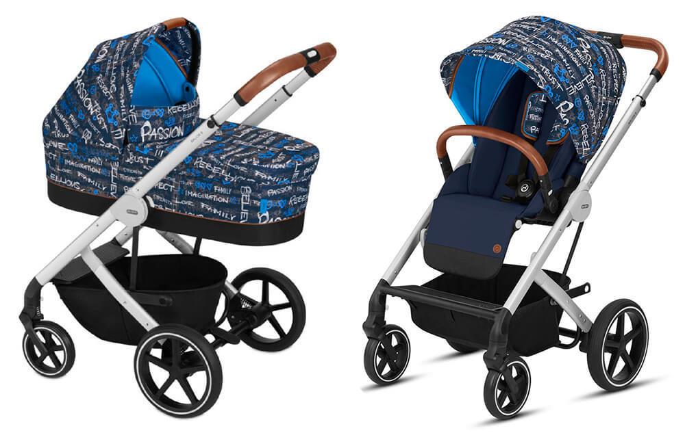 Cybex Balios S 2 в 1, для новорожденных Детская коляска Cybex Balios S 2 в 1 FE Trust cybex-baliuos-s-2-in-1-fe-trust.jpg