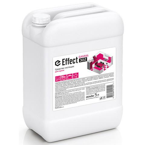 Чистящее средство для кухни для удаления жира и нагара Effect Gamma 302 5 л (концентрат)