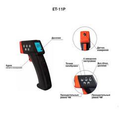 Описание элементов управления толщиномера Etari ET-11P