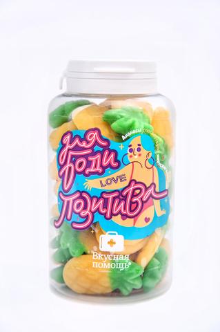 Вкусная помощь мармелад ананасики Для бодипозитива 250 мл