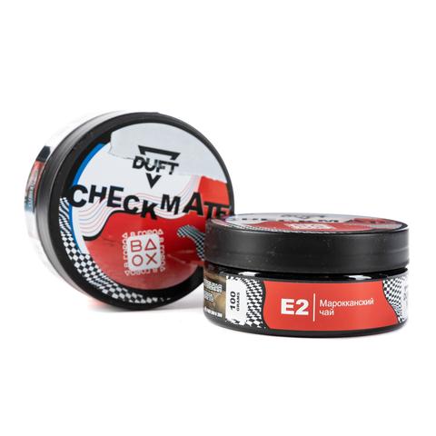 Табак Duft 100 г CheckMate Е2 (Марокканский Чай)