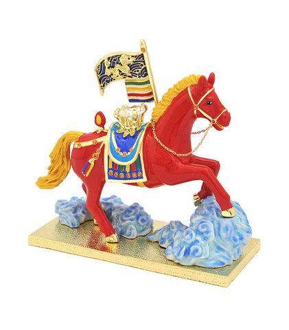 Конь Люнг Та с бриллиантом