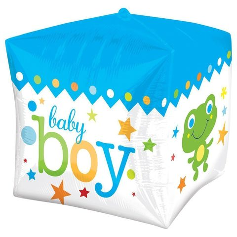 Шар куб с лягушонком выписка мальчик