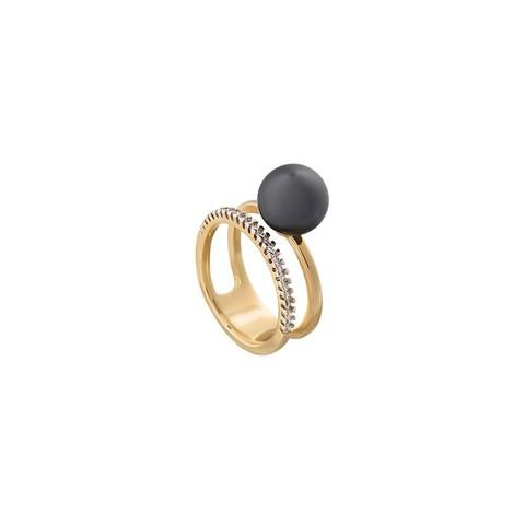Кольцо Graphite Pearl 18.5 мм K0942.3/18.5 BW/G