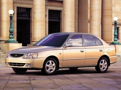 Чехлы на Hyundai Accent 2000–2013 г.в.