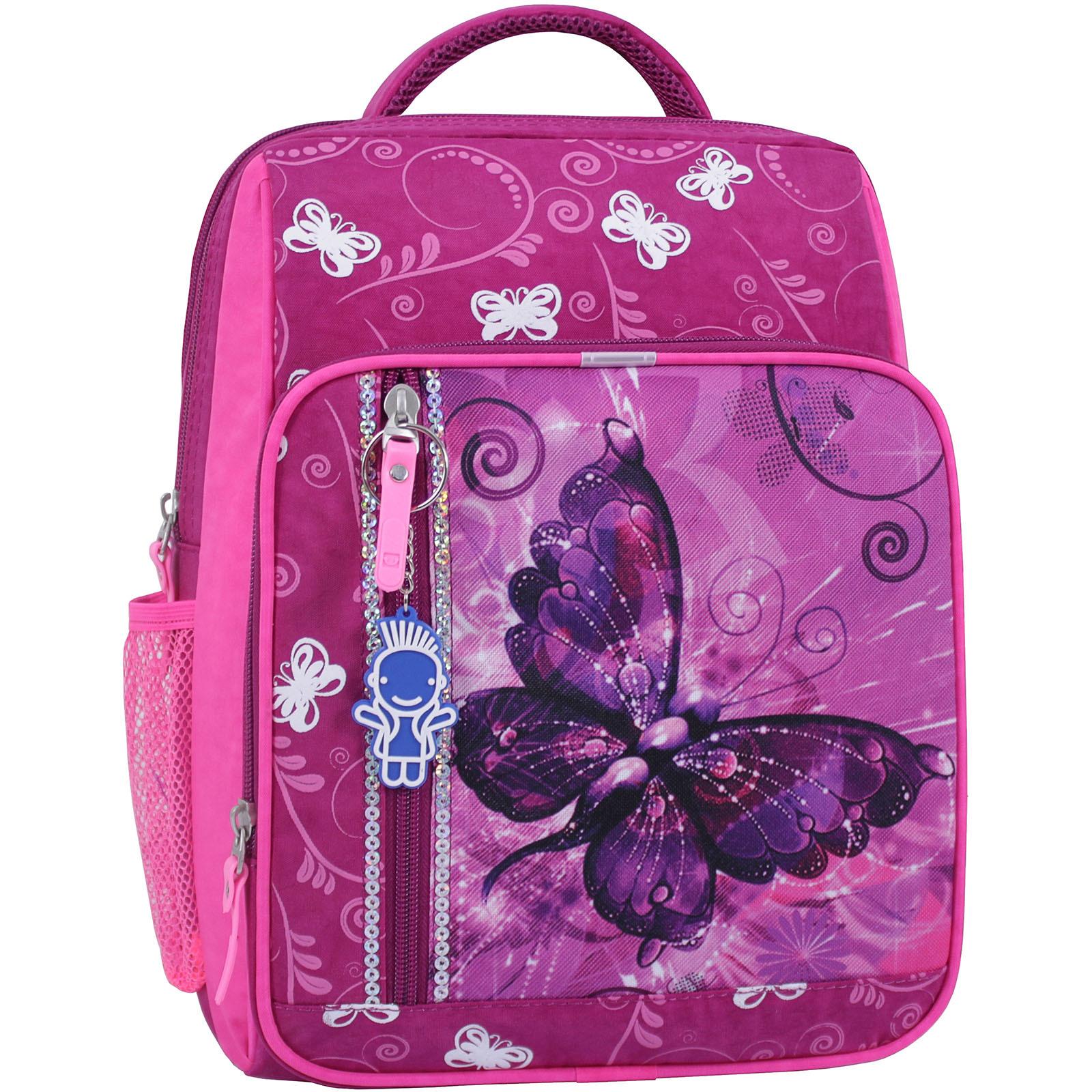 Рюкзак школьный Bagland Школьник 8 л. 143 малина 615 (00112702) фото 1