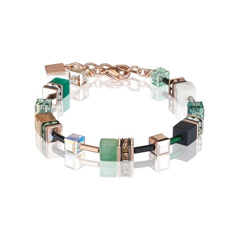 Браслет Coeur de Lion 4905/30-0510 цвет зелёный