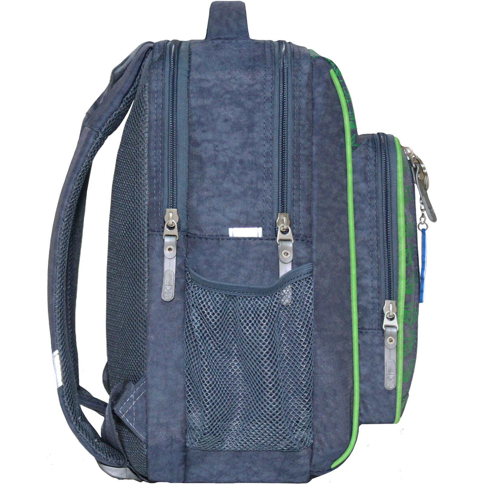 Рюкзак школьный Bagland Школьник 8 л. 321 серый 16м (0012870)