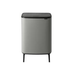Мусорный бак Touch Bin Bo Hi (60 л), Минерально-серый