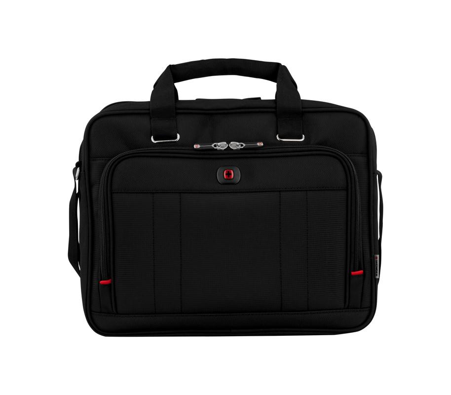 Портфель WENGER Acquisition для ноутбука 16 дюймов, 41x34x15 см., 12 л., цвет черный (600645) - Wenger-Victorinox.Ru