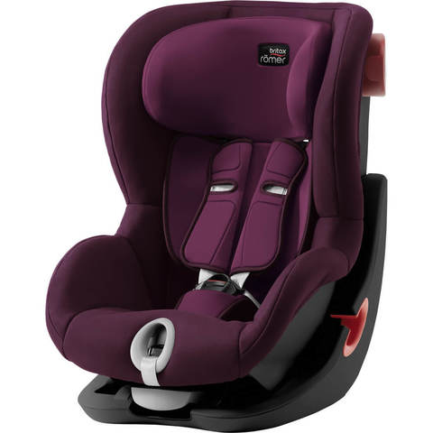 Автокресло Britax Roemer King II Burgundy Red
