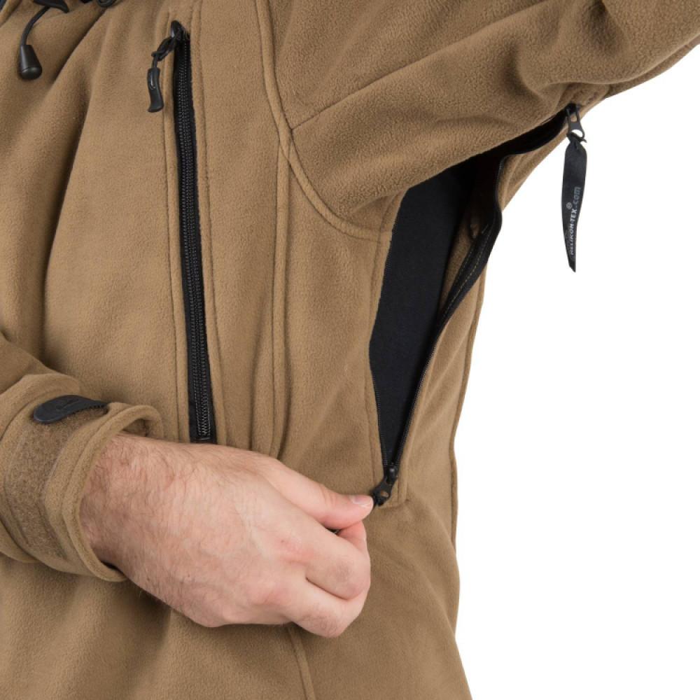 Куртка флис Helikon PATRIOT Jacket - Double Fleece - Coyote