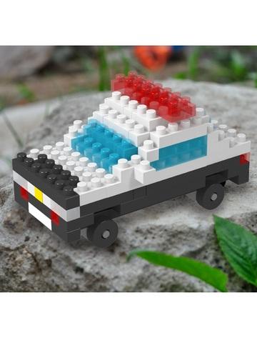 Конструктор Wisehawk Полицейская машина 101 деталь NO. b47 police car Gift Series