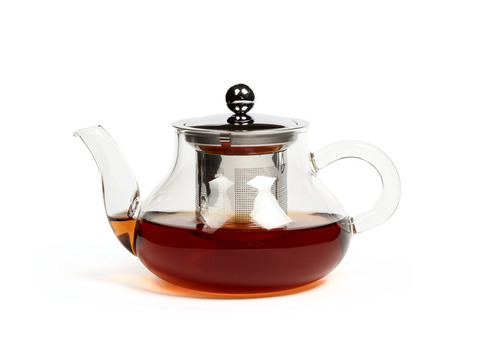 Чайник из жаропрочного стекла 550  мл