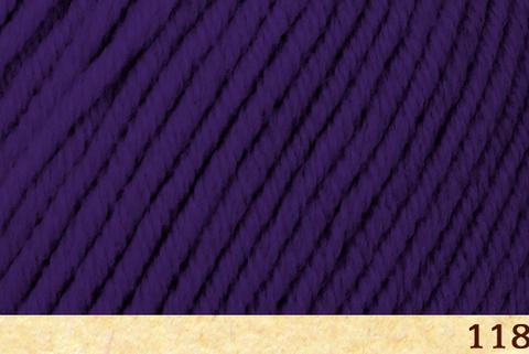 Пряжа Fibra Natura Dona 106-18 фиолетовый
