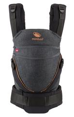 Слинг-рюкзак manduca XT denimblack-toffee (черный)
