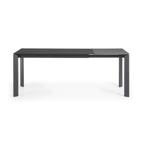 Стол Atta 140 (200) x90 темно-серый