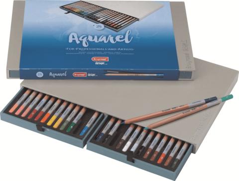 Набор акварельных карандашей Design 24 цвета в подарочной упаковке
