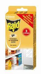 """Стикеры """"Raid"""" от пищевой моли 3шт"""