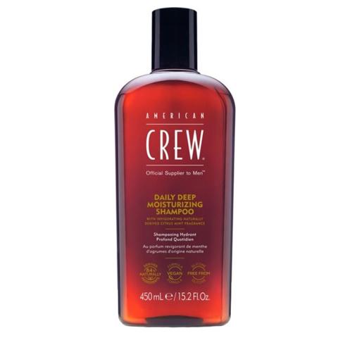 American Crew Classic: Ежедневный увлажняющий шампунь для мужчин (Daily Deep Moisturizing Shampoo), 250мл/450мл