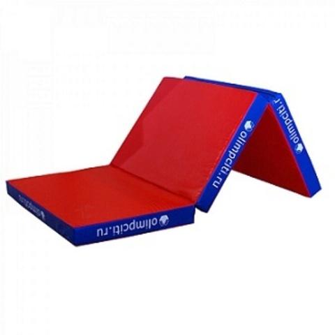 Мат гимнастический складной 2000x1000x100mm 3х (3 сложения)