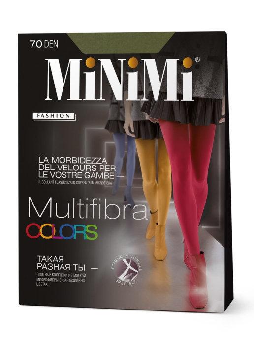Minimi Multifibra Colors 70 3D колготки женские