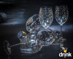 Бокалы для вина, 3x2, «Wintime. Гранд микс», 680 мл, фото 3