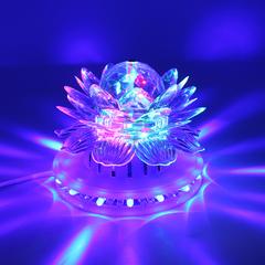 Вращающий светодиотный светильник с подсветкой1