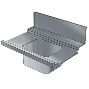 фото 1 Стол для грязной посуды Electrolux BHHPIB10R 865317 на profcook.ru