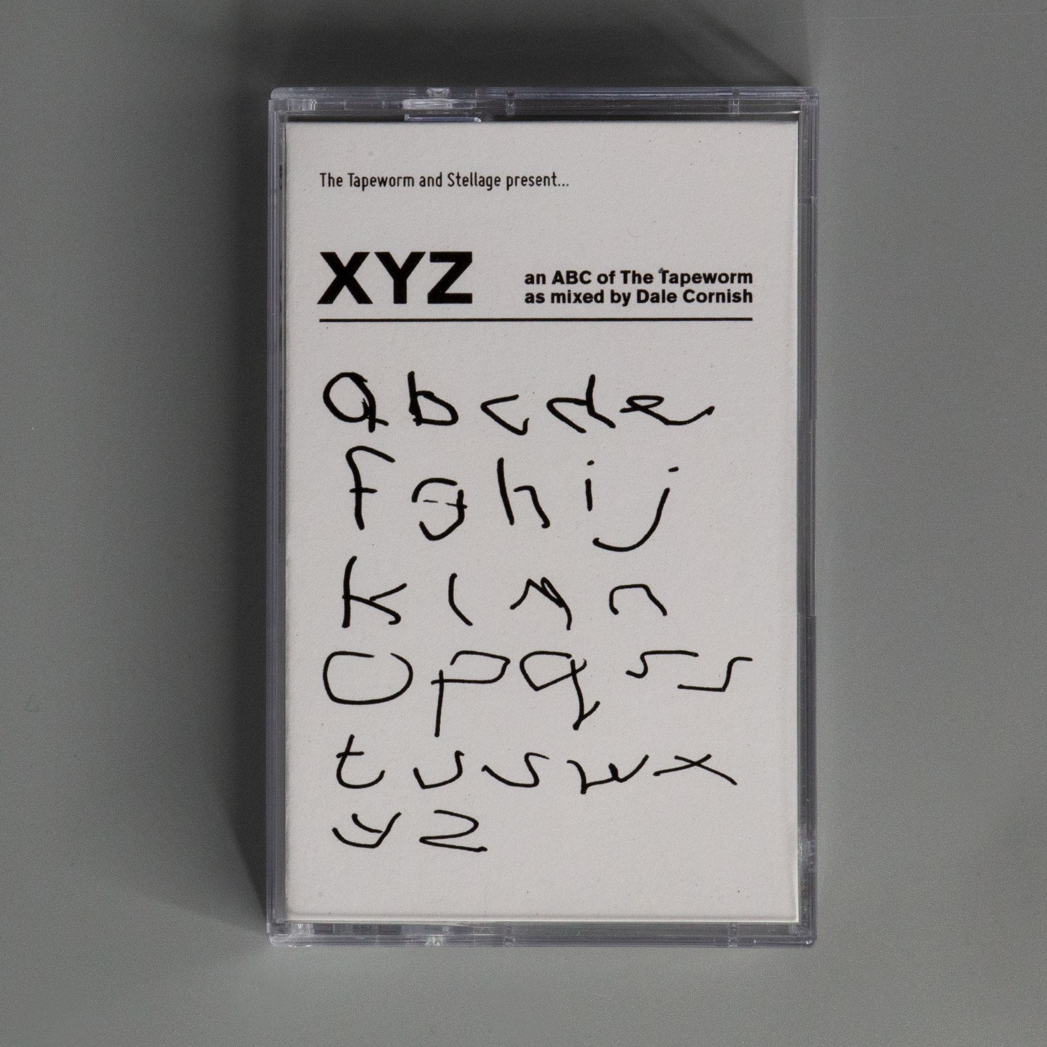 XYZ an ABC of The Tapeworm as mixed by Dale Cornish