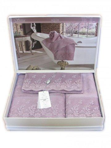 Набор полотенец  SESSA - СЕССА 3пр 30х50 50х100 и 85х150 Maison Dor (Турция)