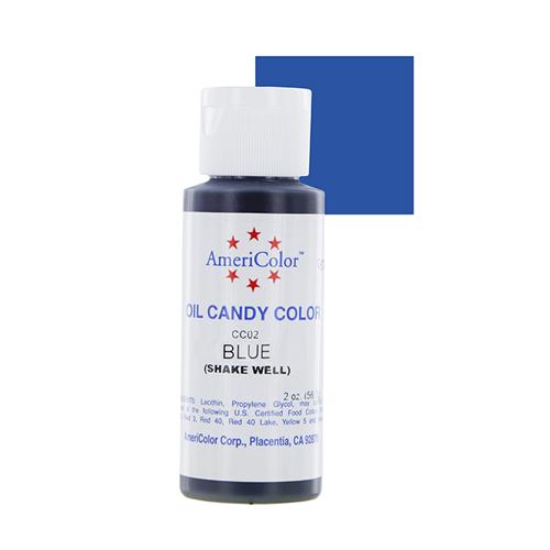 Кондитерские краски Краска для шоколада AmeriColor  BLUE, 56 гр. AmCo0177.jpg