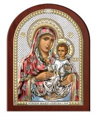 Серебряная икона Божья Матерь Иерусалимская