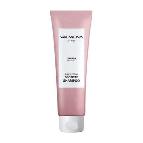 Valmona Шампунь для волос с черными бобами и пионом Powerful Solution Black Peony Seoritae Shampoo, 100 мл