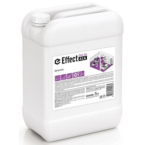 Средство для машинной и ручной мойки полов с масложировыми загрязнениями (дегризер) Effect Delta 416 5 л (концентрат)