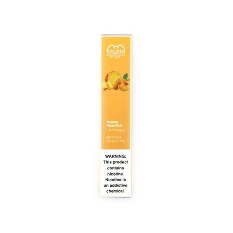 Одноразовая электронная сигарета Puff Plus Mango Pineapple (Манго Ананас)
