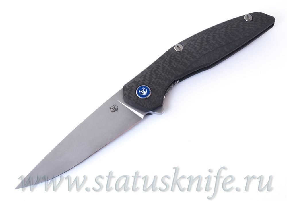 Нож Широгоров 111 М390 Карбон 3D MRBS - фотография