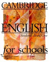 Cambridge English for Schools 1 Student's Book