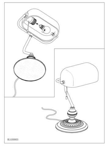 Настольная лампа Eglo BANKER 90968 5