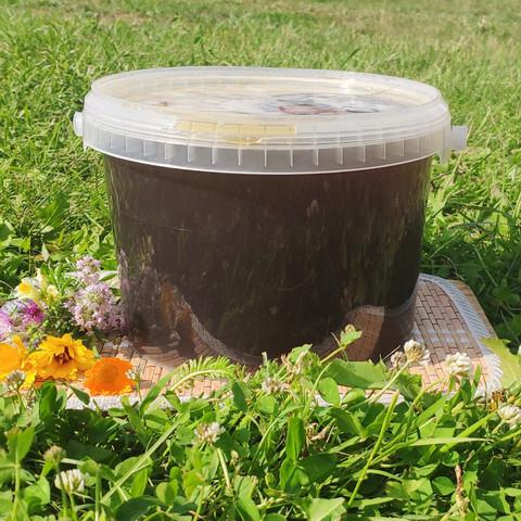 Мёд Гречишный середина лета 2021 Ивановка 3 литра (4,3кг)
