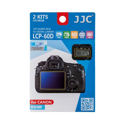 Набор защитных пленок JJC 2в1 для Canon 60D