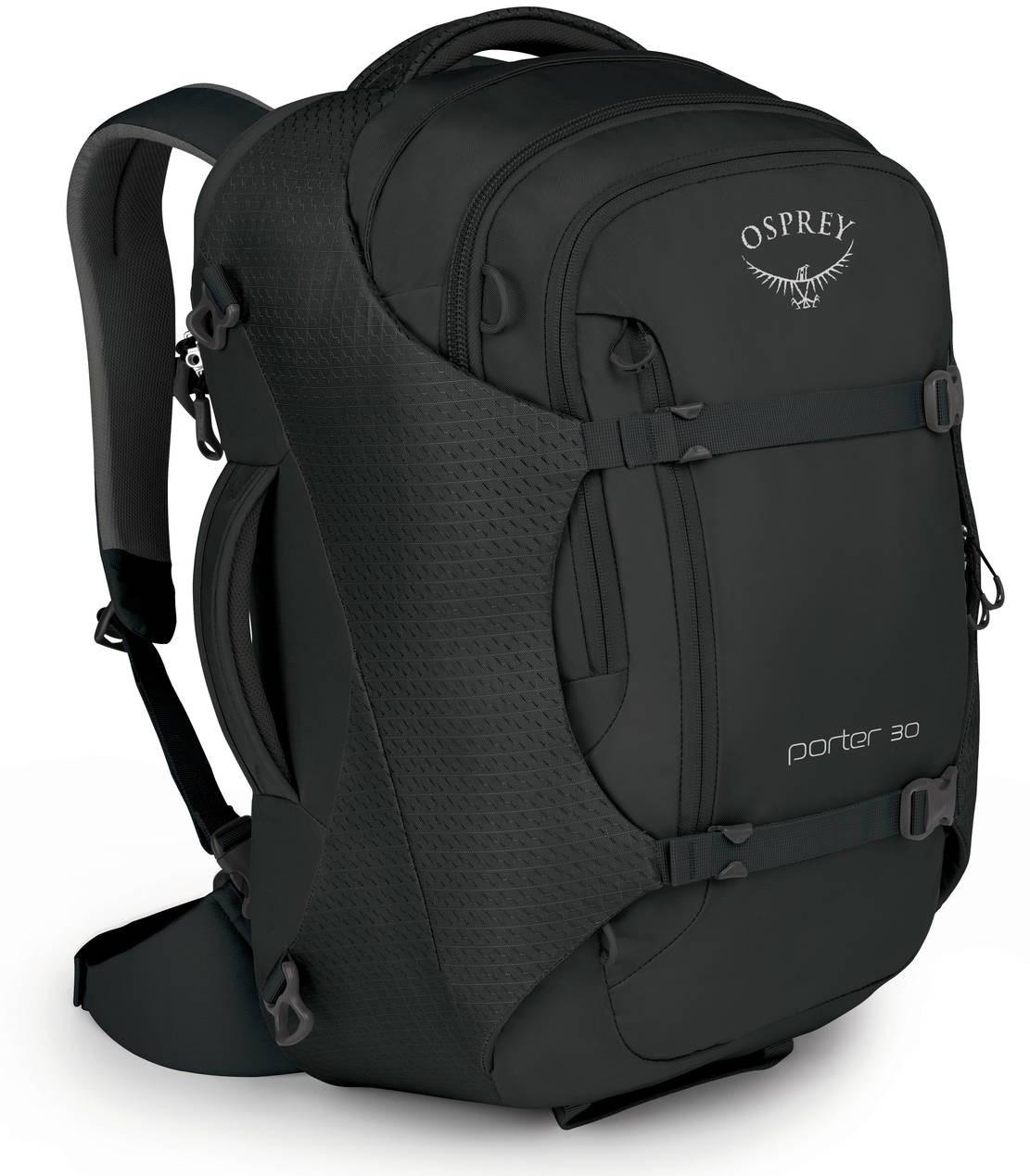 Сумки-рюкзаки Сумка-рюкзак Osprey Porter 30 Black Porter_30_F17_Side_Black_web.jpg
