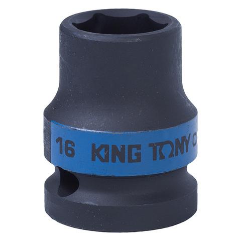 KING TONY (453516M) Головка торцевая ударная шестигранная 1/2