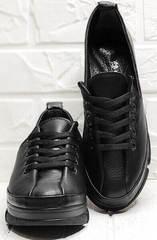 Женские низкие кеды туфли полуспортивные Mario Muzi 1350-20 Black.