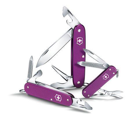 Нож Victorinox Cadet Alox, 84 мм, 9 функций, фиолетовый