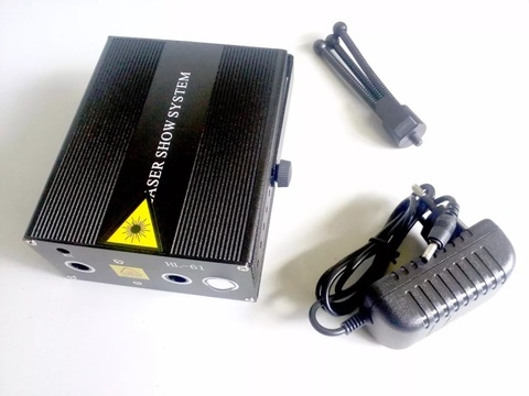 Трехцветная лазерная светомузыка Laser Show System HL-61 RGB